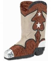 Pinata cowboy laars vorm 45 cm