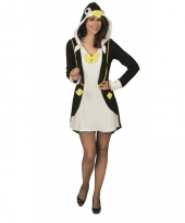 Pinguin verkleedjurk voor dames