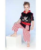 Piraat verkleedoutfit voor jongens