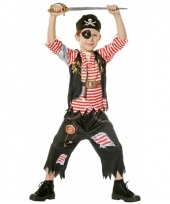 Piraat verkleedoutfit voor kinderen