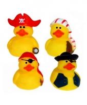 Piraten badeendjes set