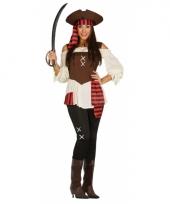Piraten broek met-shirt voor dames