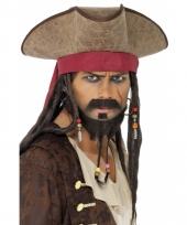 Piraten hoeden jack sparrow
