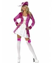 Piraten outfit met roze jasje