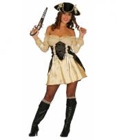 Piraten pakje dames beige