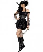 Piraten pakje dames zwart