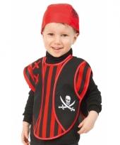 Piraten poncho voor peuters