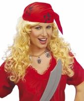 Piraten pruiken voor vrouwen