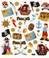 Piraten thema kinder stickers