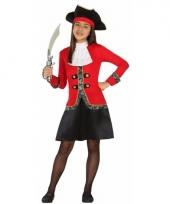Piraten verkleedkostuum dolores voor meisjes