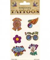 Plak tatoeages jaren zestig