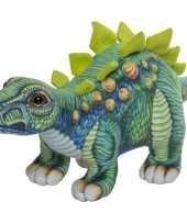 Plantetende stegosaurus knuffel 30 cm