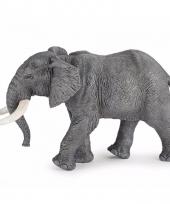 Plastic dieren afrikaanse olifant 16 cm