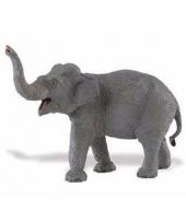Plastic dieren aziatisch olifantje 16 cm