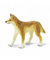 Plastic dieren dino wilde hond 10 cm