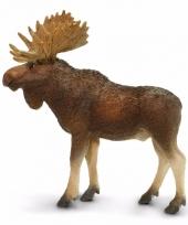 Plastic dieren eland 10 cm