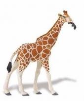 Plastic dieren girafjes 14 cm