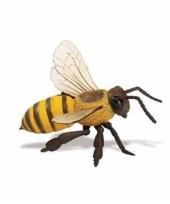 Plastic dieren honingbijtje 14 cm