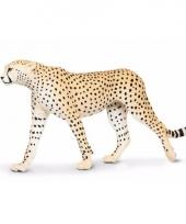 Plastic dieren jachtluipaardje 20 cm
