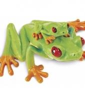 Plastic dieren kikkertje 7 cm roodvoetmaki