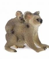 Plastic dieren koalabeertje 5 cm