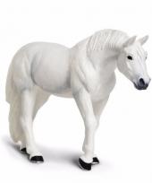 Plastic dieren lippizaner paardje 12 cm