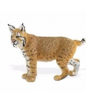 Plastic dieren lynx bobcat 7 cm