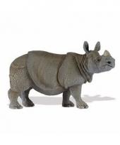 Plastic dieren neushoorntje 12 cm