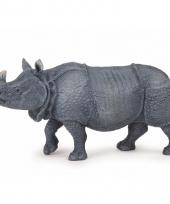 Plastic dieren neushoorntje 14 cm