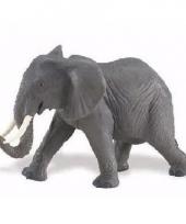 Plastic dieren olifantje 16 cm