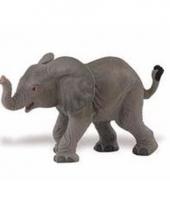 Plastic dieren olifantje 8 cm