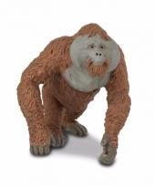 Plastic dieren orang oetan aap 11 cm