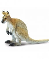 Plastic dieren wallaby 9 cm