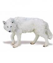 Plastic dieren wolfje 9 cm