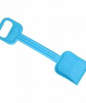 Plastic kinder schep 54 cm blauw