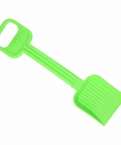 Plastic kinder schep 54 cm groen