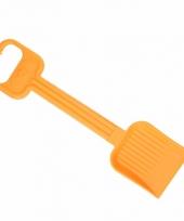 Plastic kinder schep 54 cm oranje
