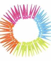 Plastic knijpers 32 stuks