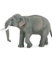 Plastic papo aziatische olifant 14 5 cm
