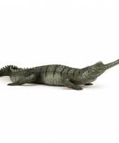 Plastic papo dier gaviaal krokodil