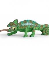 Plastic papo dier kameleon 4 cm