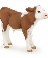 Plastic papo dier koeien kalf bruin
