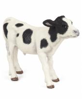 Plastic papo dier koeien kalf zwart