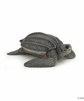 Plastic papo dier lederschildpad 9 5 cm