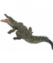 Plastic papo dier nijl krokodil 21 cm