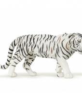 Plastic papo dier witte tijger