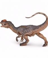 Plastic papo dilophosaurus dinosaurus 4 5 cm