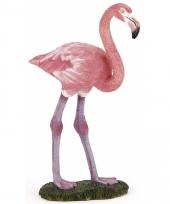 Plastic papo flamingo dier 6 5 cm