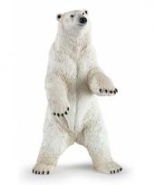 Plastic papo staande dier ijsbeer 7 cm