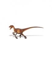 Plastic speel velociraptor 21 cm